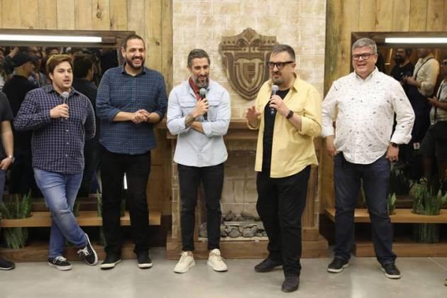 Coletiva A Fazenda 11 - (Edu Moraes/ Antonio Chahestian/Record TV)