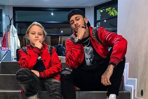 Davi Lucca filho de Neymar JR. - Instagram