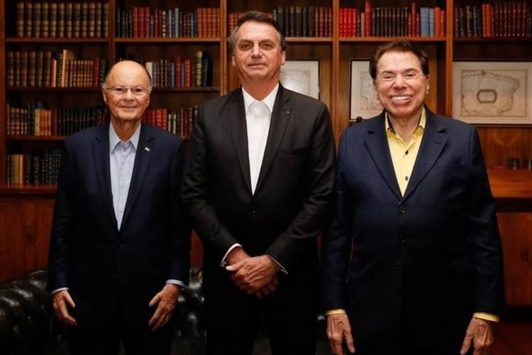 Silvio Santos é convidado pelo presidente Bolsonaro para acompanhar o desfile de 7 de setembro