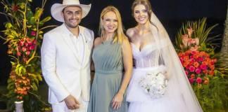 Eliana no casamento de Mano Walter (Mayckon Santos/ SBT)