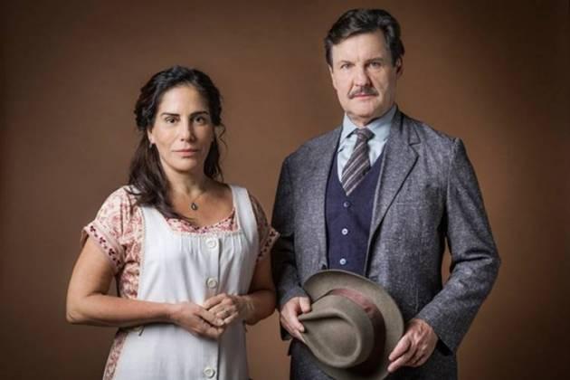 Éramos Seis - Julio e Lola (Globo/Raquel Cunha)