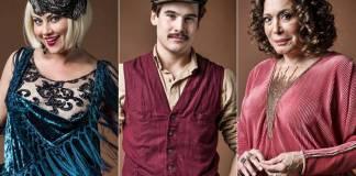 Éramos Seis - Marion - Alfredo - Emília (Globo/Raquel Cunha)