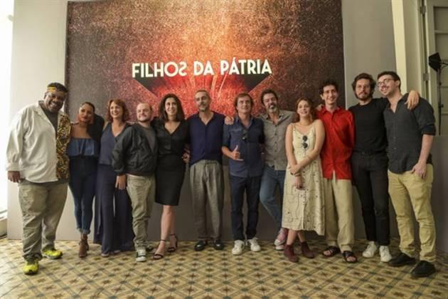 Evento de Lançamento de Filhos da Pátria (Globo / Estevam Avellar)