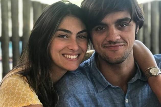 Felipe Simas e Mariana Uhlmann- Instagram