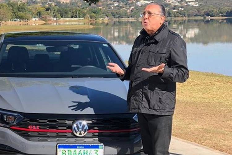 Globo autoriza Galvão Bueno fazer post pago no Instagram