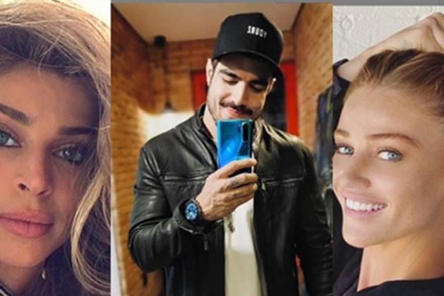 Grazi Massafera, Caio Castro, e Cintia Dicker-Instagram