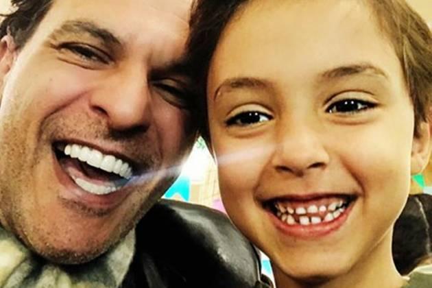 João marcelo Bôscoli e filho Arthur- Instagram