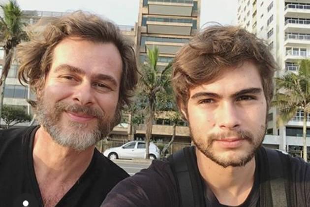 João Vitti e Rafael Vitti- Instagram