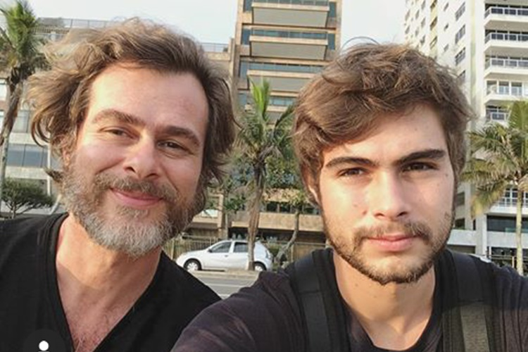 "Pai de Rafael Vitti compartilha foto e dispara: 'Censura nunca mais"""
