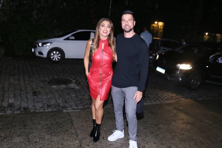 Juliana Paes com o marido (Anderson Borde/AgNews)