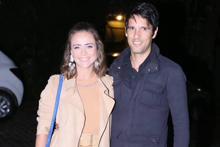 Juliana Silveira com o marido(Anderson Borde/AgNews)