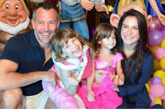 Malvino Salvador e família - Instagram