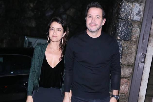Manuela Dias e Murilo Benicio (Anderson Borde / AgNews)