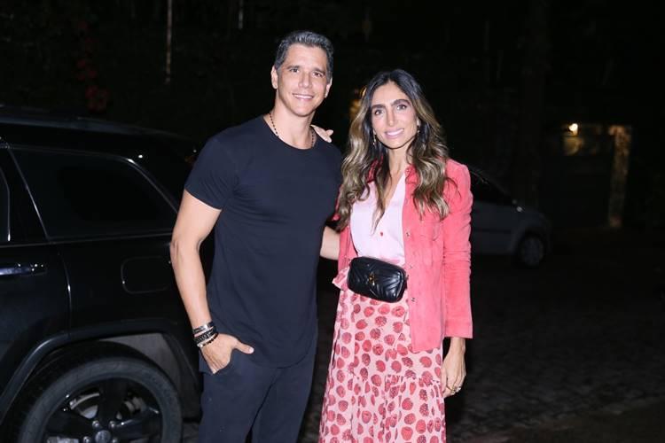 Marcio Garcia com a esposa (Anderson Borde/AgNews)