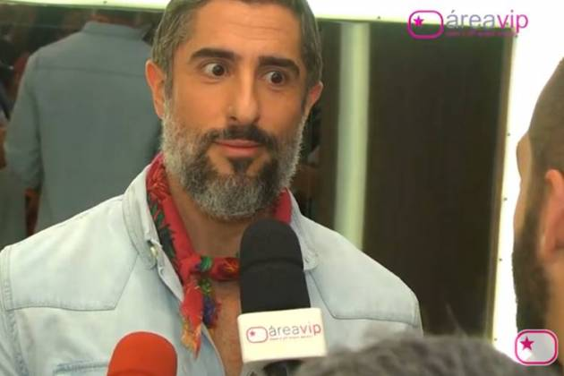 Marcos Mion em entrevista ao Área VIP