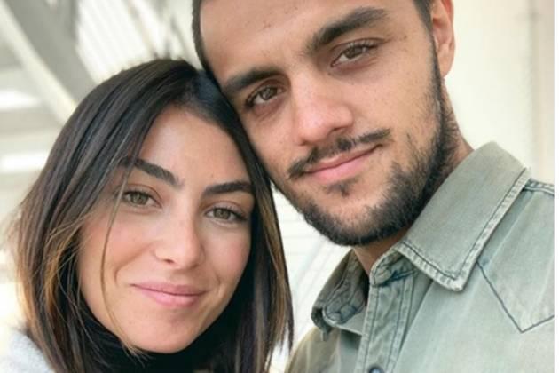 Mariana Uhlmann e marido Felipe Simas- Instagram