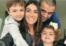 Mariana Ulmann- Felipe Simas- filhos Joaquim e Maria- Instagram