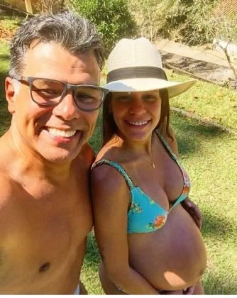 Mauricio Mattar e esposa Shay Dufau - Instagram.1