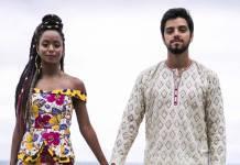 Órfãos da Terra - Bruno e Marie se casam (Globo/Raquel Cunha)