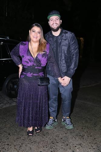 Preta Gil com o marido (Anderson Borde/AgNews)