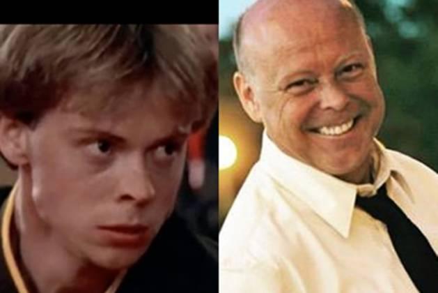 Robert Garrison. em 1984 filme Karatê Kid- e Roberto Garrison nso dias atuai