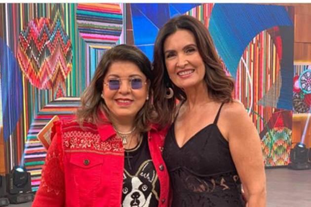 Roberta Miranda e Fátima Bernardes- Instagram