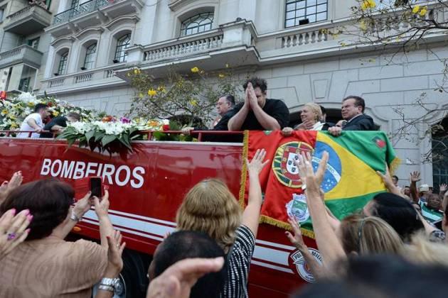Rodrigo filho de Roberto Leal (Francisco Cepeda/AgNews)
