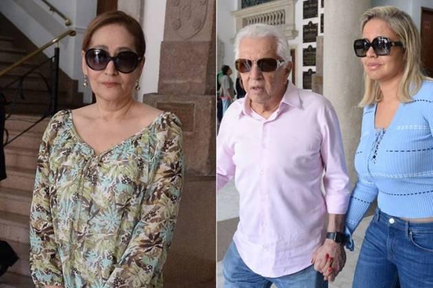 Sonia Abrão - Carlos Alberto com a esposa (Francisco Cepeda/AgNews)