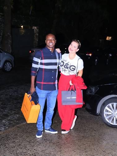 Thiaguinho e Fernanda Souza (Anderson Borde/AgNews)