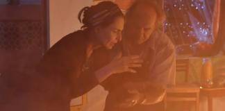 Topissima - Incêndio criminoso destrói restaurante de Mariinha (Blad Meneghel/ Record TV)