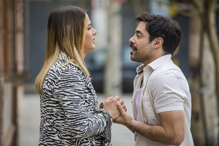 A Dona do Pedaço - Abel e Britney (Globo/Paulo Belote)