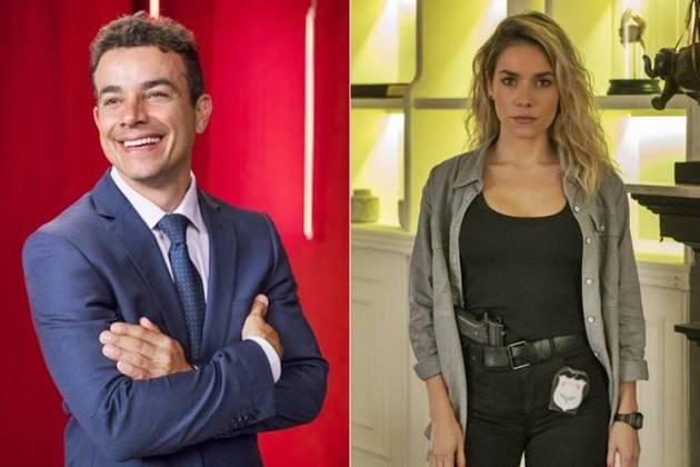 A Dona do Pedaço - Márcio e Yohana (João Cotta/Cesar Alves/TV Globo)