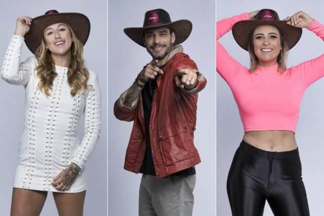 A Fazenda 11 - Bifão - Diego - Tati (Antonio Chahestian/ Record TV)
