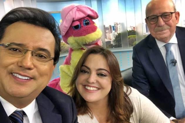 Balanço Geral SP - Geraldo - Fabíola e Lombardi/Instagram