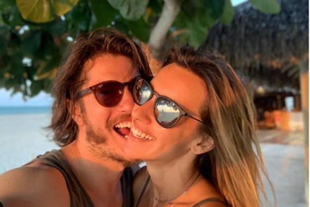 Caio paduan e Cris Dias reprodução Instagram