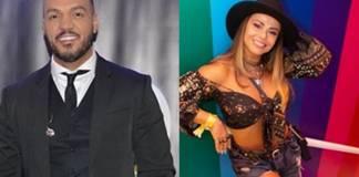 Cantor Belo e Viviane reprodução Instagram montagem Area Vip