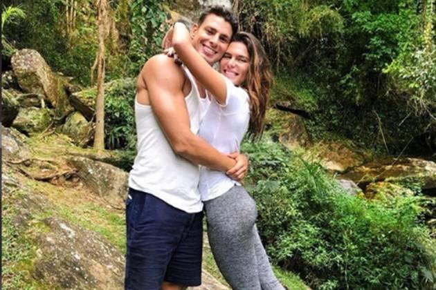 Cauã Reymond e mariana Goldfarb, reprodução instagram