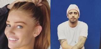 Cintia Diker e Pedro Scooby reprodução Instagram montagem Area Vip