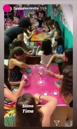 festa da Olívia filha Flávia Alessandra reprodução Instagram.2