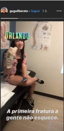 Marina filha de gugu liberato/ Instagram