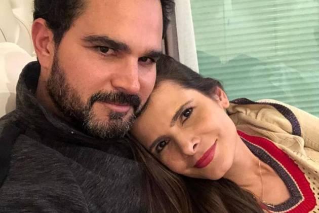 Flávia Camargo e Luciano - Reprodução: Instagram