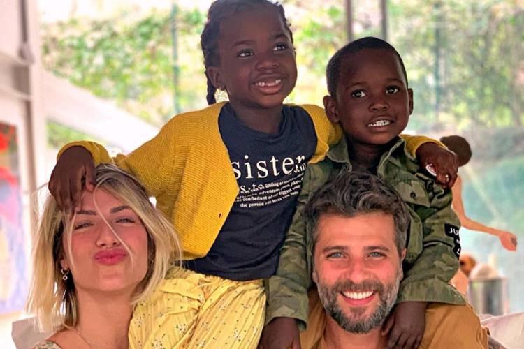 """Bruno Gagliasso comenta sobre paternidade: """"Nasci para ser pai"""""""