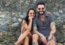 Gleici Damasceno e Wagner Santiago reprodução Instagram