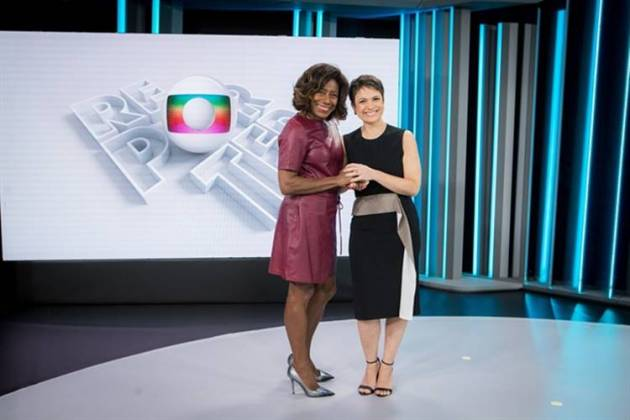 Gloria Maria e Sandra Annenberg (Globo/Raquel Cunha)