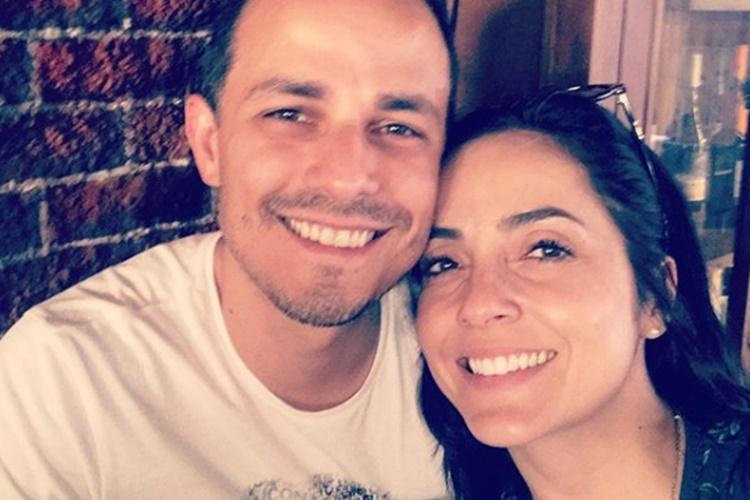 Izabella Camargo faz declaração ao namorado em seu aniversário
