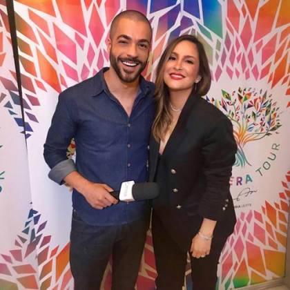 Jan Rios e Claudia Leitte/ÁreaVIP