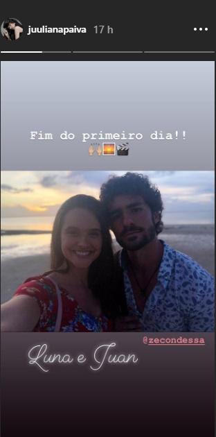 Juliana Paiva reprodução Instagram