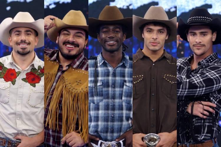 Dança dos Famosos: Homens se apresentam com baladão sertanejo e semifinalistas são definidos