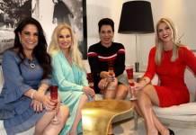 Lidya Sayeg, Brunet Fraccaroli Débora Rodrigues e Val marchiori reprodução Instagram