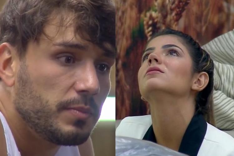 A Fazenda 11: Insistente, Lucas Viana sofre com decisão permanente de Hariany